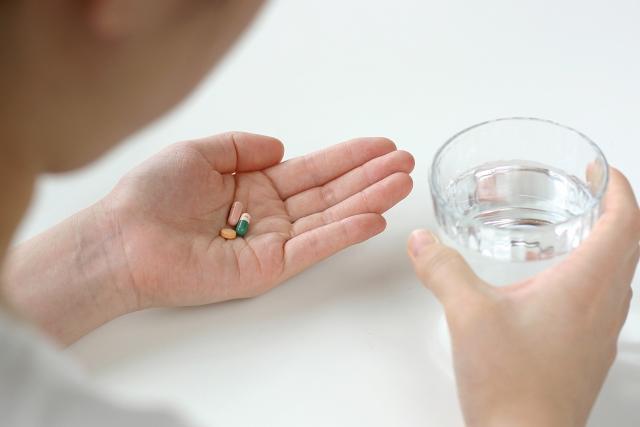 抗てんかん薬の服用