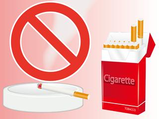 喫煙はだめ