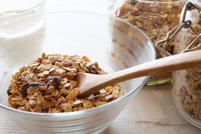 葉酸を含む穀類